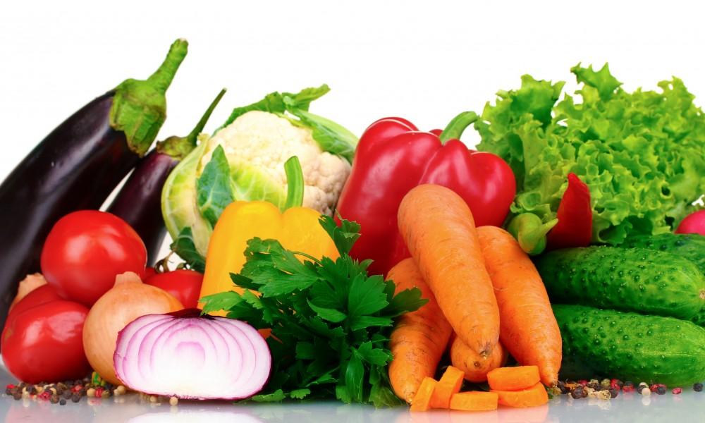 Vegetales crudos o cocidos