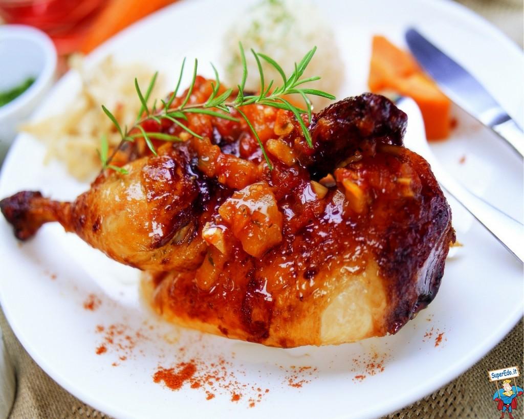 pollo al horno es más saludable para perder peso