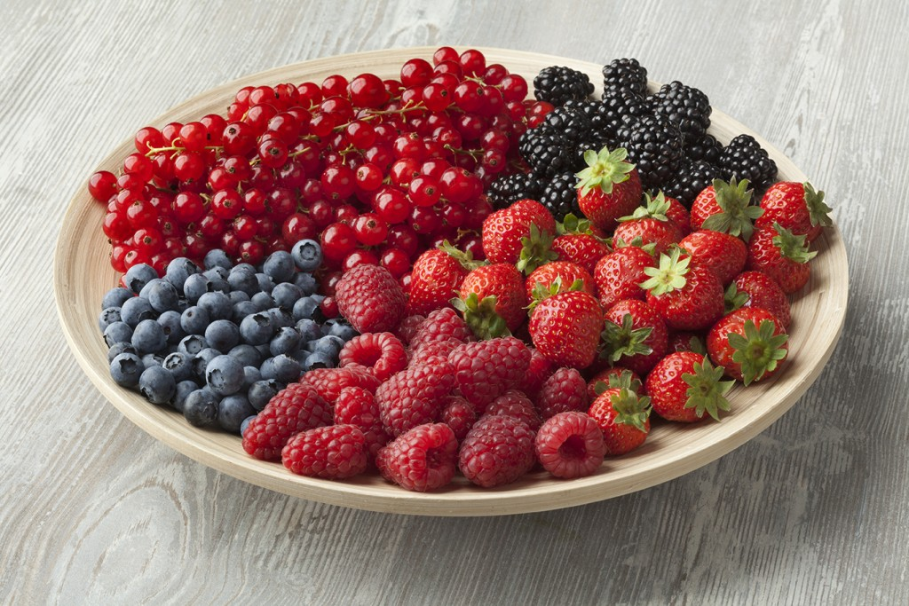 Frutos rojos