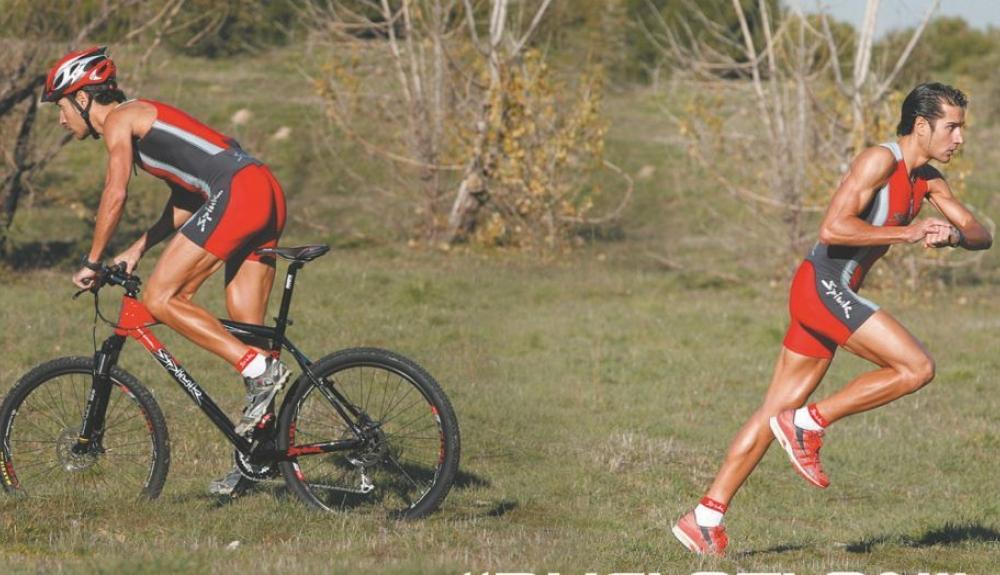 combinar bici con correr