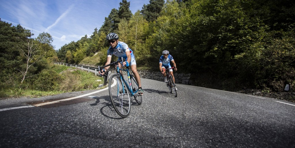 bicileta de carretera o de montaña