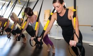 entrenamiento en suspensión TRX
