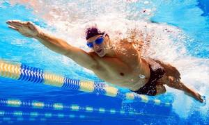 recuperar una lesión con natación