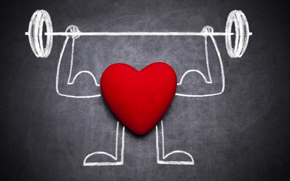 corazón fuerte
