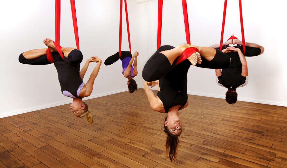 gimnasia aérea