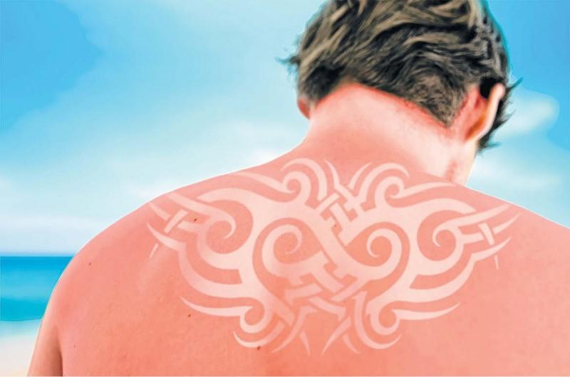 tatuaje de sol
