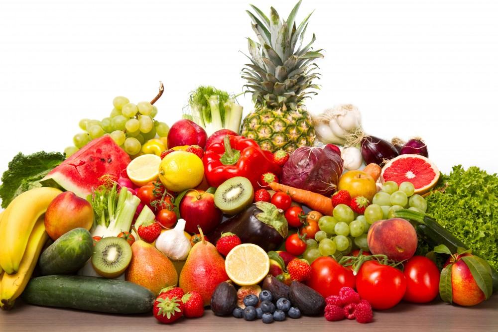 Frutas y verduras veraniegas para deportistas