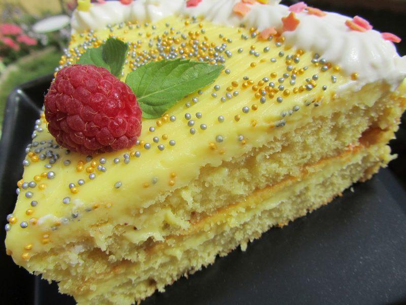 tarta de yogur y limón sin gluten