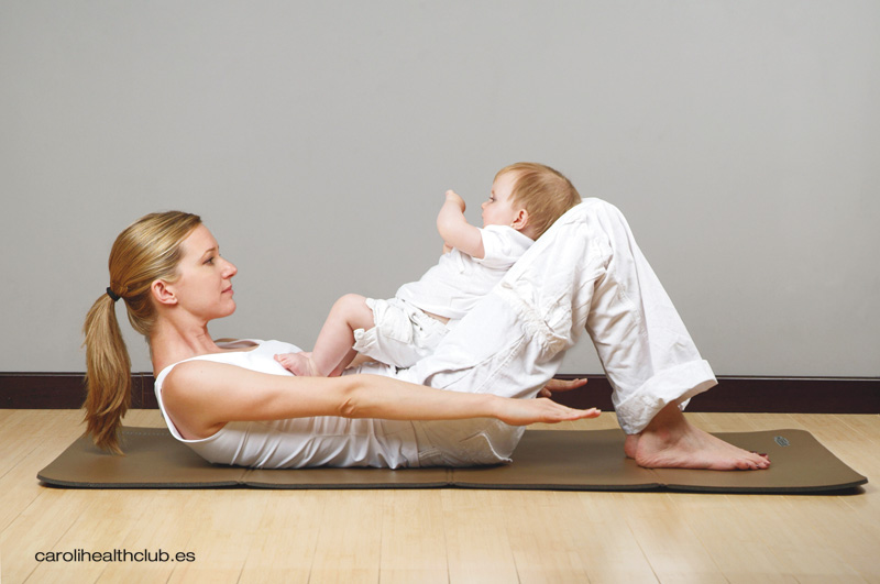 6 ejercicios que puedes hacer con tu bebé en casa