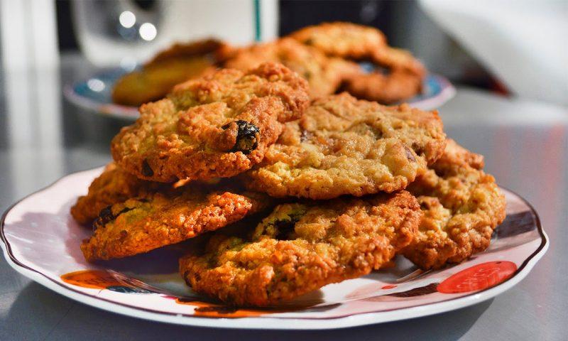 galletas dietéticas de arándanos