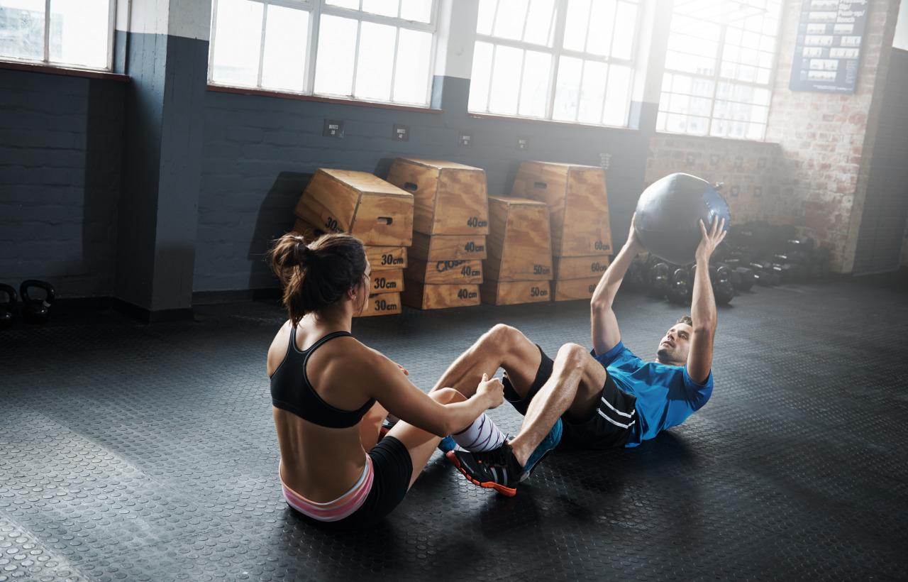 deporte hombre y mujer