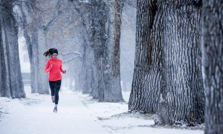 entrenar con frío corriendo