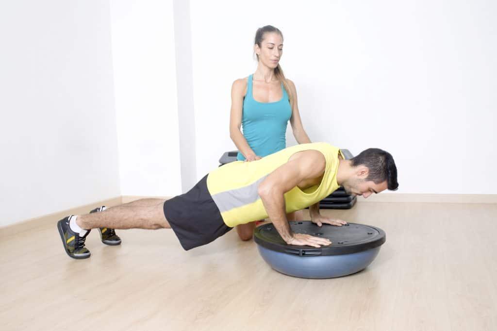 entrenamiento funcional con bosu