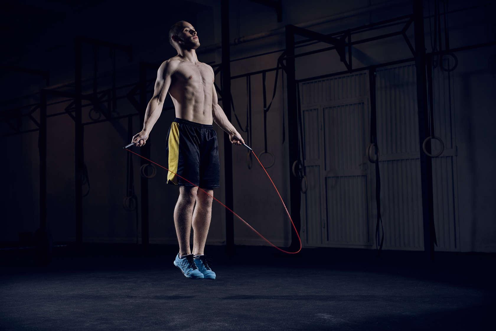 Rutinas con cuerda de saltar