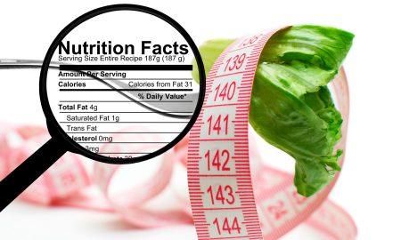 se puede adelgazar leyendo la información nutricional