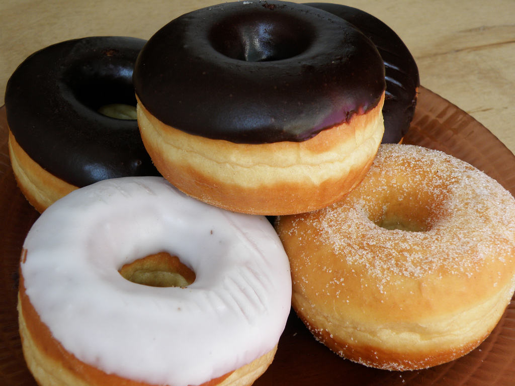Donuts y tortas light
