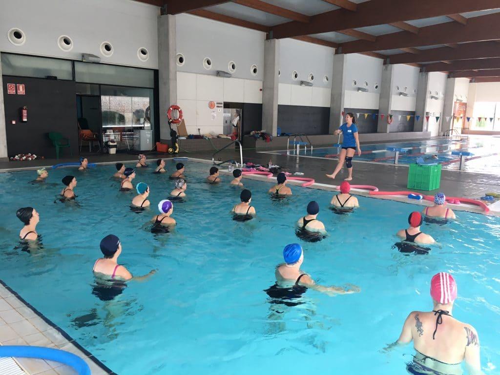 tipos de beneficios de la natación