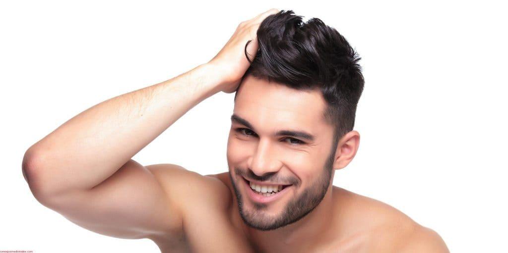 cabello fuerte y sano