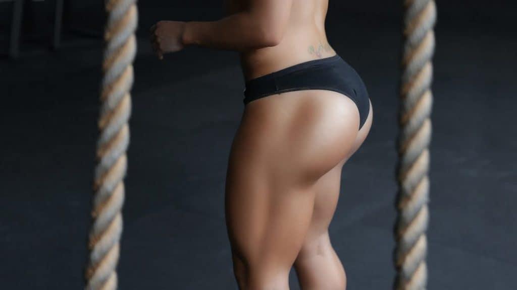 piernas fuertes con entrenamiento y ejercicio
