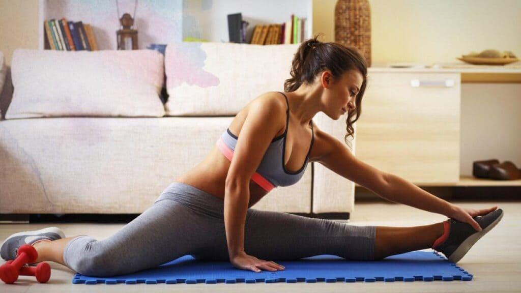 Realiza tu rutina de ejercicios semanal en casa