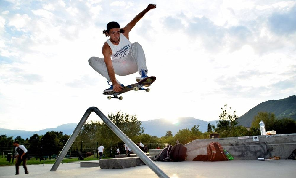 skateboard, técnica