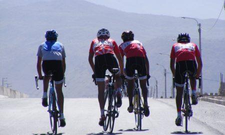 calentamiento para ciclistas