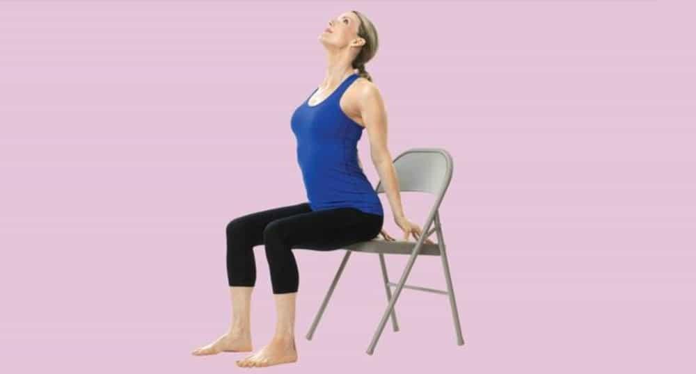 Chair yoga en la oficina - El puente
