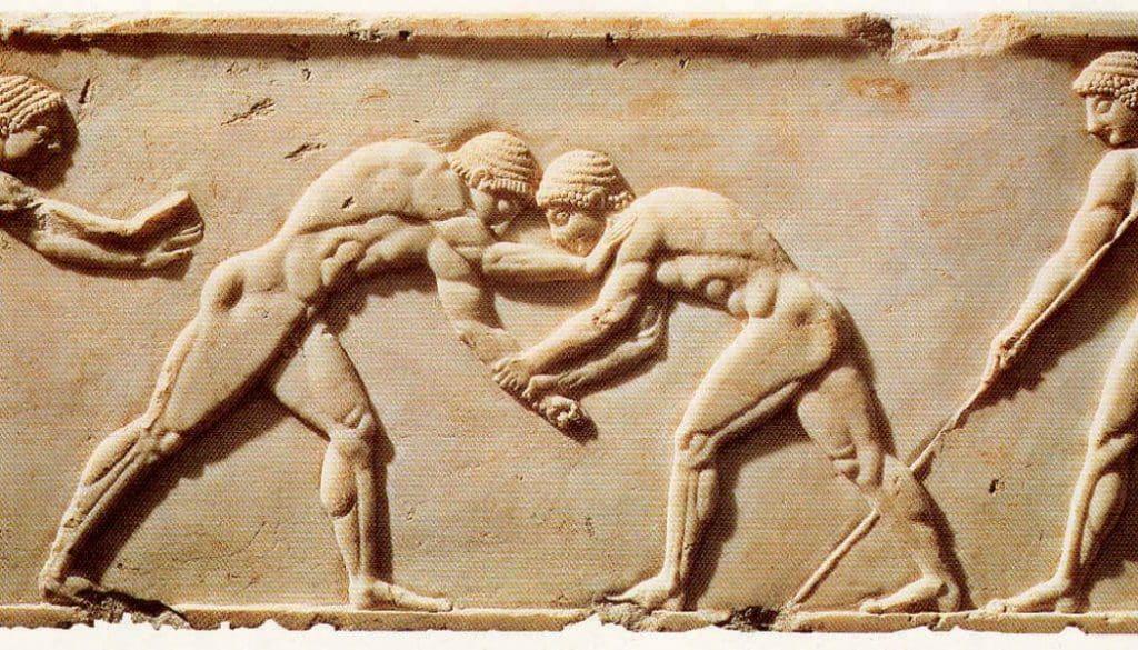 griegos artes marciales mixtas