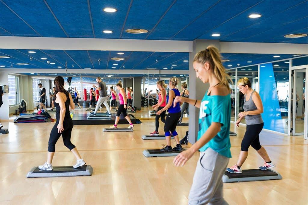 actividades en gimnasio