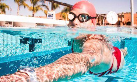 respiracion al nadar