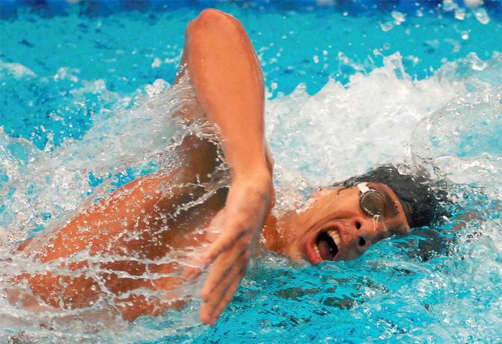 respiración en natación