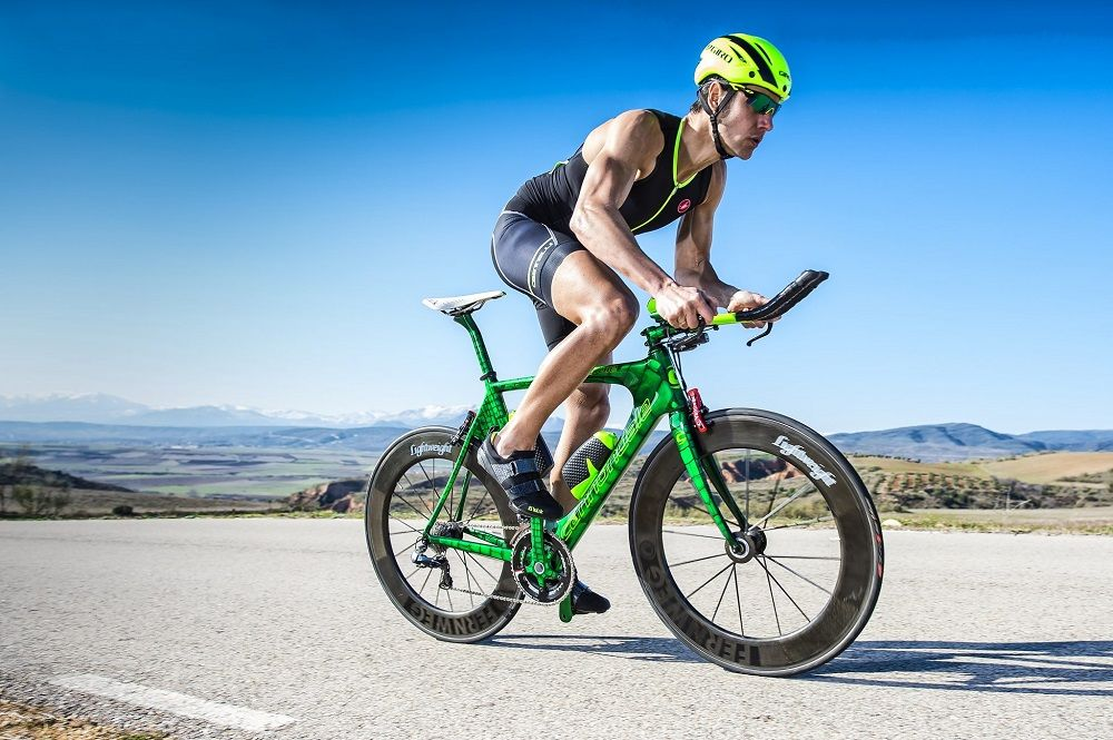 A triatlon comenzar entrenar