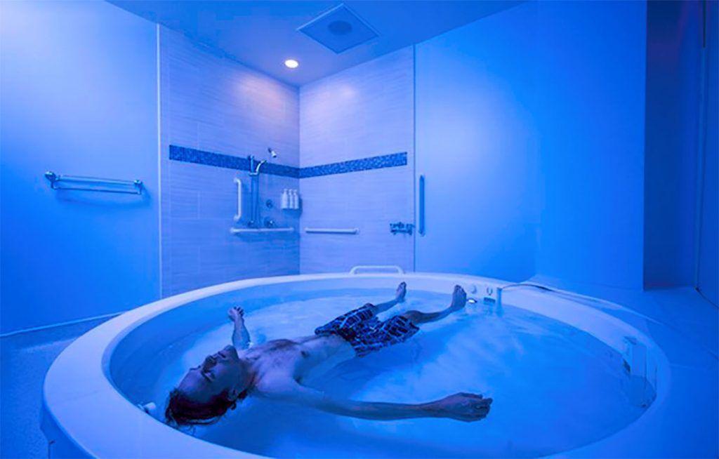 terapia flotacion