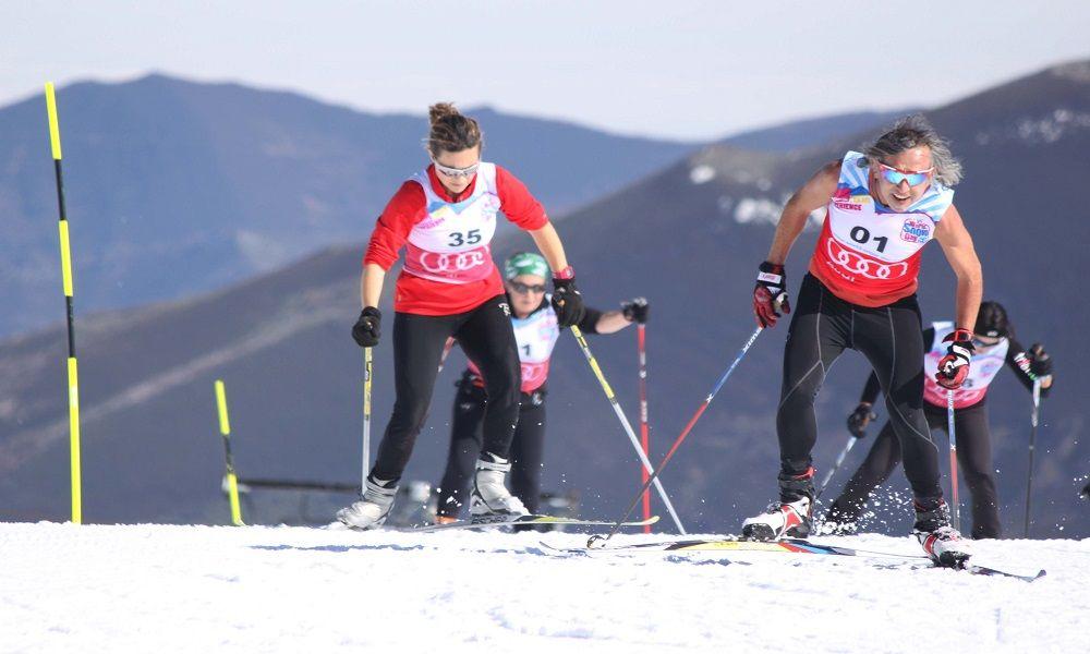 entrenamiento esquí