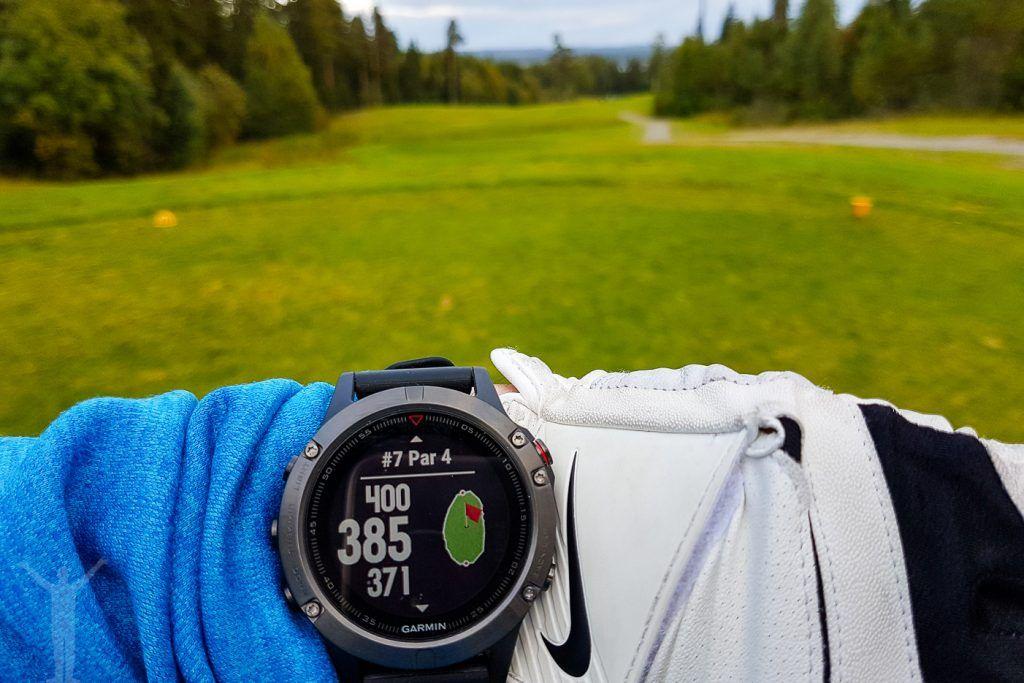 Garmin Fenix 5 para golf