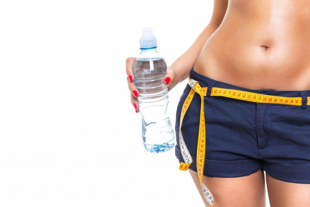 beber agua durante la dieta