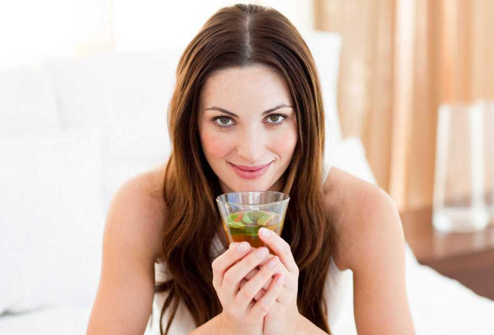 Manganeso en té verde
