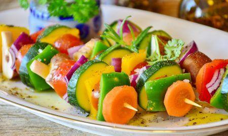 Comer sano con verduras