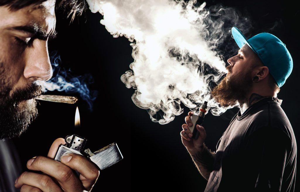 diferencia entre cigarrillo electrónico y tabaco