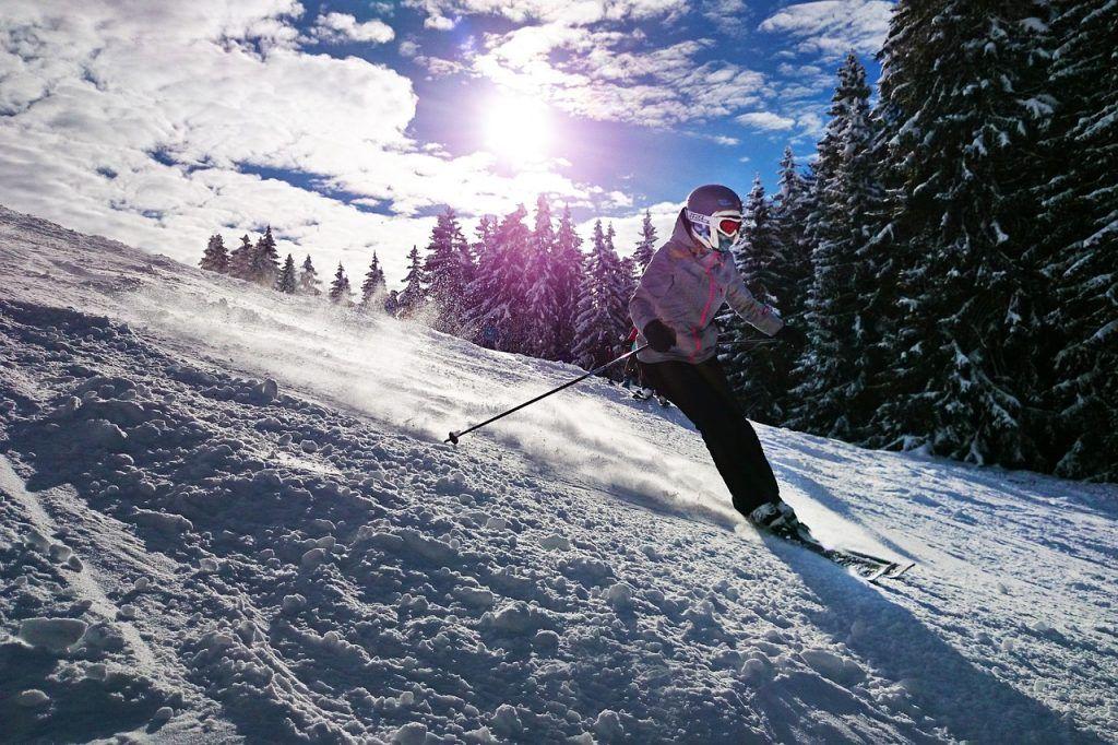 Prepararse para esquiar