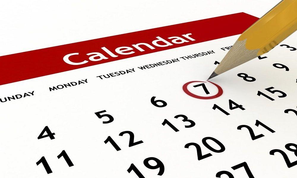 tu propio calendario de entrenamiento