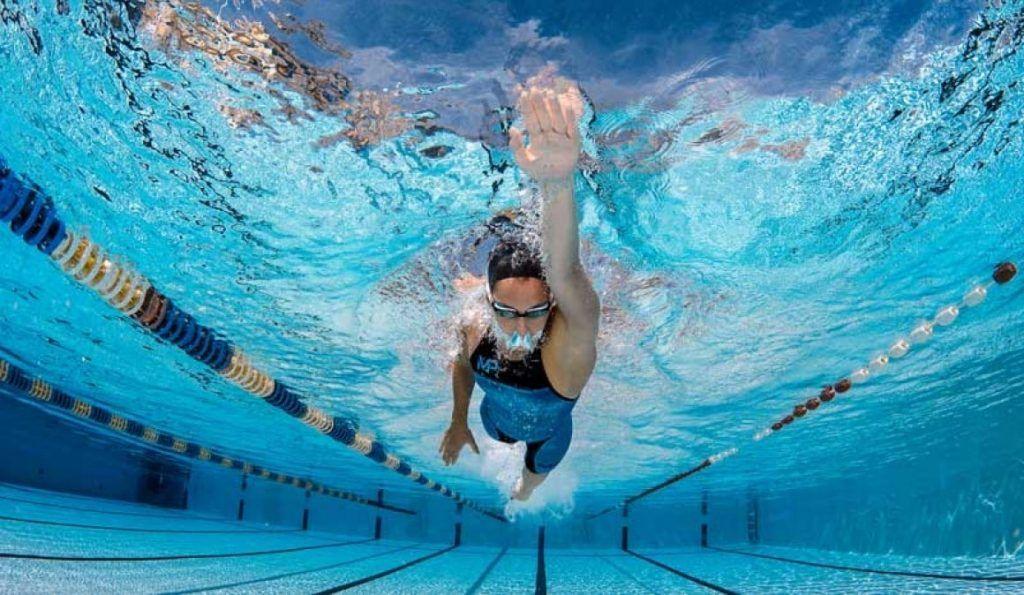 la natación en un triatlón