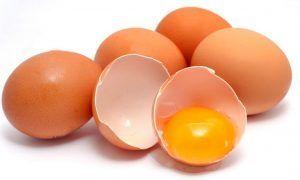 Categorías de los huevos