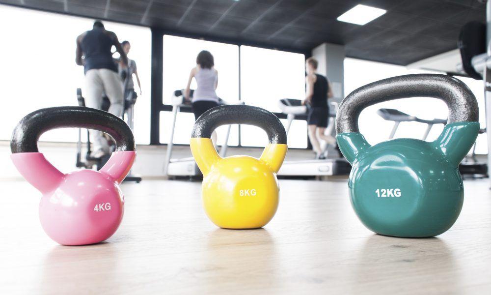 ejercicios con kettlebells
