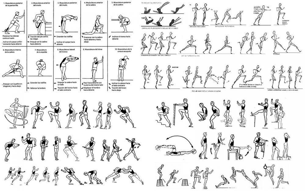 ejercicios para mejorar la técnica de carrera