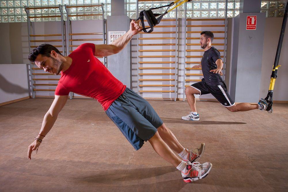 ejercicios con TRX