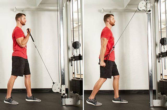 extensión de biceps y triceps