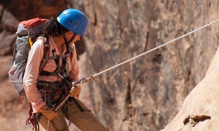 Preparación de una ruta de escalada