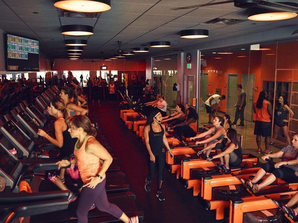 entrenamiento de la Teoría naranja del fitness