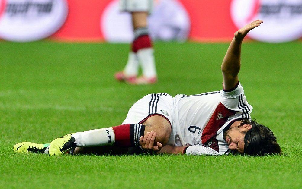 lesión de rodilla en futbolista
